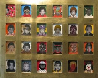 2.- Leonel Coronado, Preso de mi, mixta sobre papel, 60 x 80 cm (políptico) (Copiar)