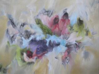 3.- Antonio Muñiz, El último acto, 2012, fumage y óleo sobre tela, 76 x 101 cm. (Copiar)