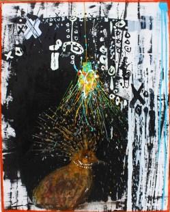 Vladimir_Amador_Jazzamoart, Sin título 1, 2014, mixta sobre tela, 100 x 80 cm