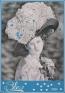 Fernando Guevara, Azul París, 2014, carboncillo y óleo sobre tela, 130 x 90 cm